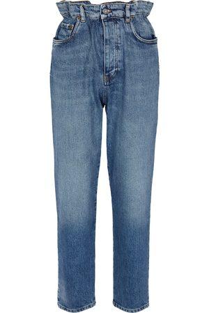 Miu Miu Slim paperbag jeans
