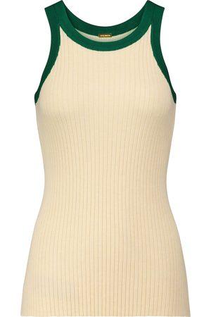 DODO BAR OR Ribbed-knit tank top