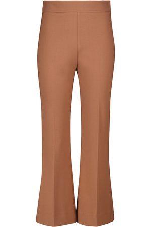 Victoria Victoria Beckham High-rise kick-flare pants