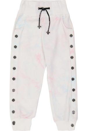 Balmain Tie-dye cotton sweatpants