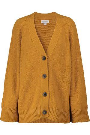 Velvet Kim alpaca-blend knit cardigan