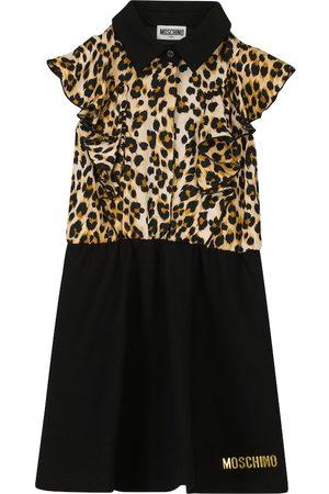 Moschino Ruffled stretch-jersey dress