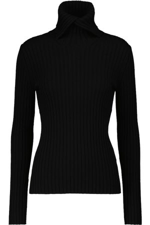 Dorothee Schumacher Ribbed Softness wool turtleneck sweater