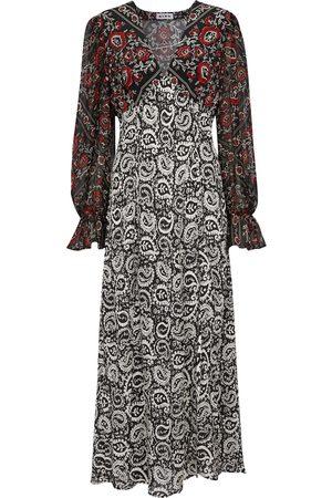 RIXO London Aoife paisley-printed silk dress