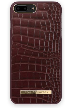 IDEAL OF SWEDEN Atelier Case iPhone 8 Plus Scarlet Croco
