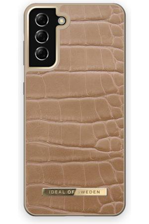 IDEAL OF SWEDEN Atelier Case Galaxy S21 Plus Camel Croco
