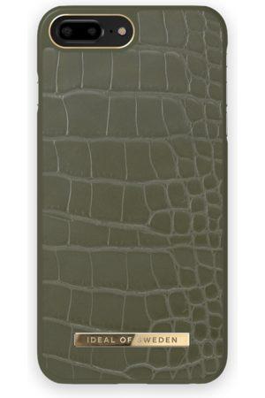 IDEAL OF SWEDEN Atelier Case iPhone 8 Plus Khaki Croco