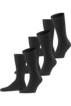 Falke Airport 3-pack antraciet