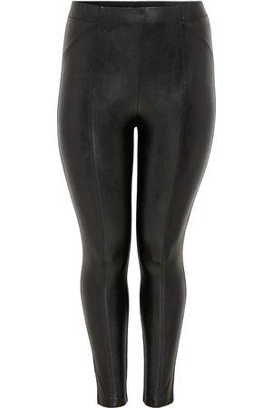 Carmakoma Dames Leggings & Treggings - (Maatje Meer) Carhanna Faux Leather Legging Cc Ot: