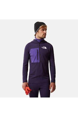 The North Face Sweaters - The North Face Amk L2 Futurefleece-sweater Met Halve Rits Black Cherry Purple Größe L Unisex