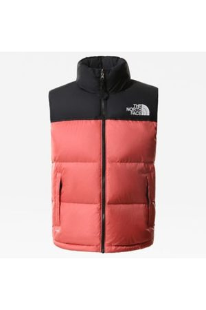 The North Face The North Face 1996 Retro Nuptse-bodywarmer Voor Dames Faded Rose Größe L Dame