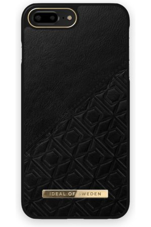 IDEAL OF SWEDEN Telefoon - Atelier Case iPhone 8 Plus Embossed Black