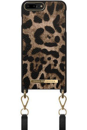 IDEAL OF SWEDEN Atelier Necklace Case iPhone 8 Plus Midnight Leopard