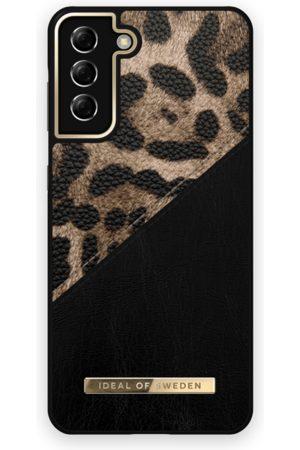 IDEAL OF SWEDEN Atelier Case Galaxy S21 Plus Midnight Leopard