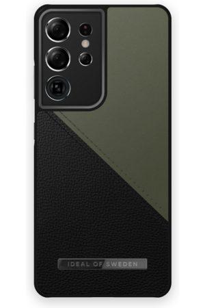 IDEAL OF SWEDEN Atelier Case Galaxy S21 Ultra Onyx Black Khaki
