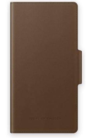 IDEAL OF SWEDEN Atelier Wallet Galaxy S21 Plus Intense Brown