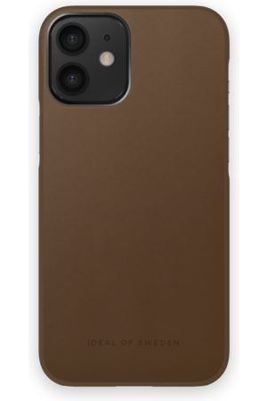 IDEAL OF SWEDEN Atelier Case iPhone 12 Mini Intense Brown