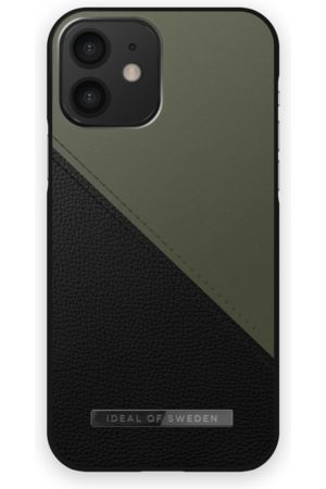 IDEAL OF SWEDEN Atelier Case iPhone 12 Onyx Black Khaki