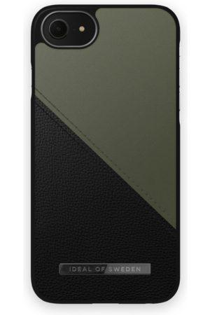 IDEAL OF SWEDEN Atelier Case iPhone 8 Onyx Black Khaki