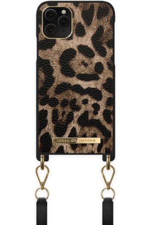 IDEAL OF SWEDEN Atelier Necklace Case iPhone 11 Pro Midnight Leopard