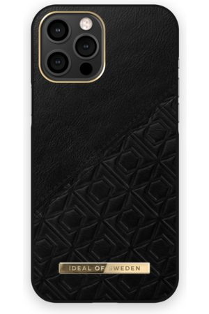 IDEAL OF SWEDEN Atelier Case iPhone 12 Pro Max Embossed Black