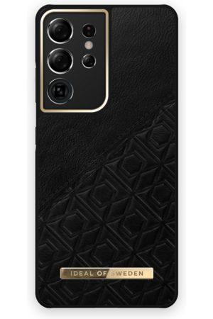 IDEAL OF SWEDEN Atelier Case Galaxy S21 Ultra Embossed Black