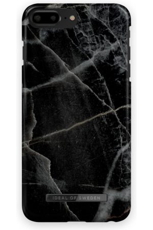 IDEAL OF SWEDEN Fashion Case iPhone 8 Plus Black Thunder Marble