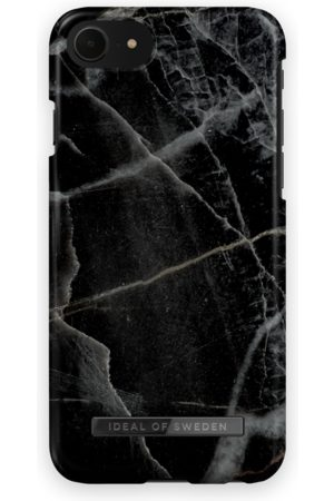 IDEAL OF SWEDEN Fashion Case iPhone 8 Black Thunder Marble
