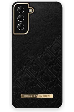 IDEAL OF SWEDEN Atelier Case Galaxy S21 Plus Embossed Black
