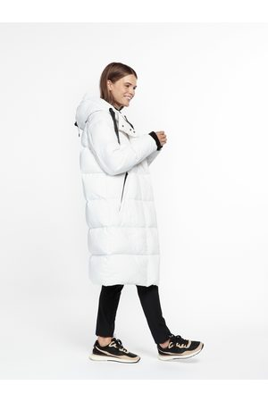 beaumont Recycle puffer parka - White 44