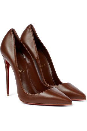 Christian Louboutin So Kate 120 leather pumps