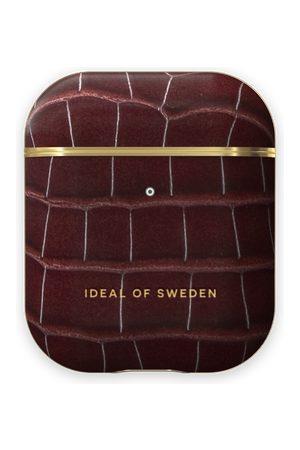 IDEAL OF SWEDEN Telefoon - Atelier AirPods Case Scarlet Croco