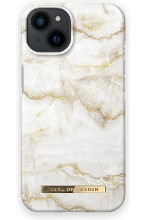 IDEAL OF SWEDEN Telefoon - Fashion Case iPhone 13 Golden Pearl Marble