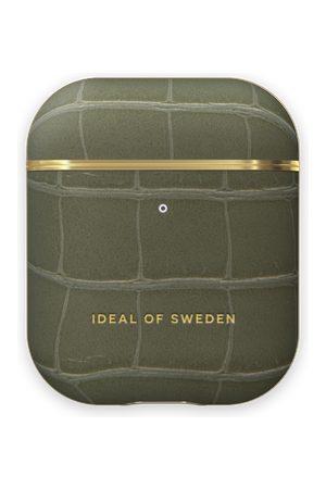 IDEAL OF SWEDEN Telefoon - Atelier AirPods Case Khaki Croco