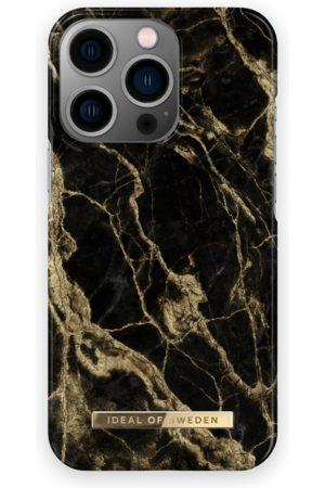 IDEAL OF SWEDEN Telefoon - Fashion Case iPhone 13 Pro Golden Smoke Marble