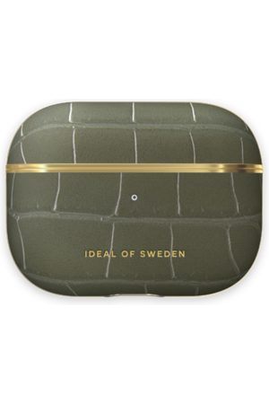 IDEAL OF SWEDEN Telefoon - Atelier AirPods Case Pro Khaki Croco