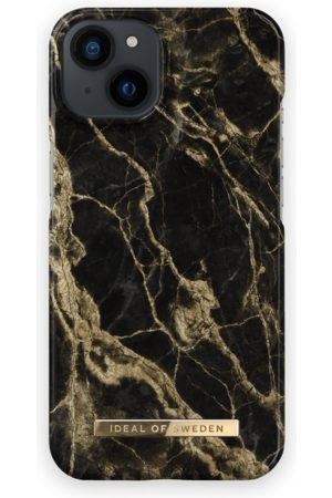 IDEAL OF SWEDEN Telefoon - Fashion Case iPhone 13 Golden Smoke Marble