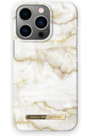 IDEAL OF SWEDEN Telefoon - Fashion Case iPhone 13 Pro Golden Pearl Marble