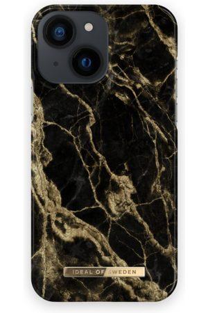 IDEAL OF SWEDEN Telefoon - Fashion Case iPhone 13 Mini Golden Smoke Marble