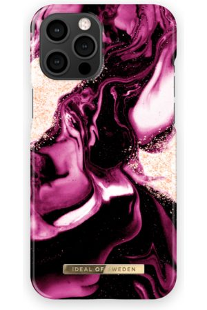 IDEAL OF SWEDEN Telefoon - Fashion Case iPhone 13 Pro Max Golden Ruby Marble