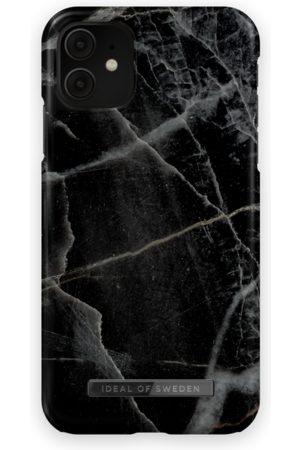 IDEAL OF SWEDEN Telefoon - Fashion Case iPhone 11 Black Thunder Marble