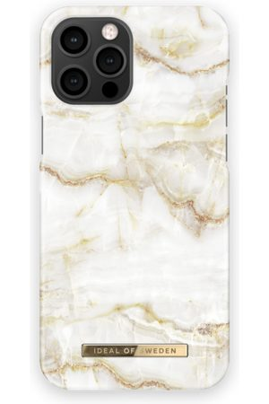 IDEAL OF SWEDEN Telefoon - Fashion Case iPhone 13 Pro Max Golden Pearl Marble