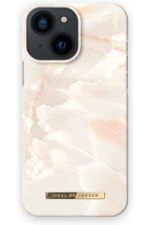 IDEAL OF SWEDEN Fashion Case iPhone 13 Mini Rose Pearl Marble