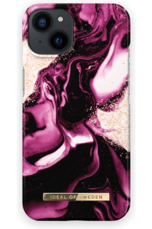 IDEAL OF SWEDEN Telefoon - Fashion Case iPhone 13 Golden Ruby
