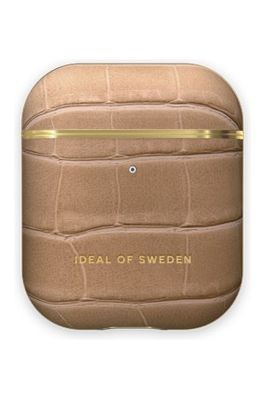 IDEAL OF SWEDEN Telefoon - Atelier AirPods Case Camel Croco