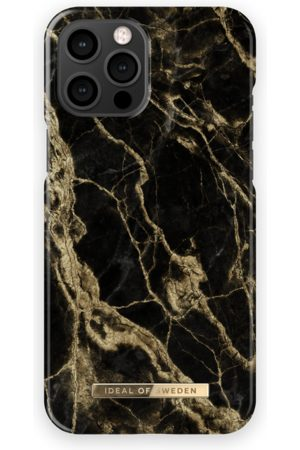 IDEAL OF SWEDEN Telefoon - Fashion Case iPhone 13 Pro Max Golden Smoke Marble