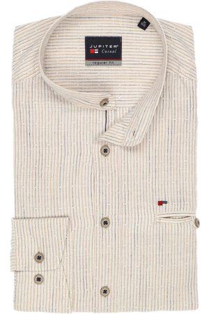 Jupiter Heren Casual - Casual Regular Fit Overhemd , Gestreept