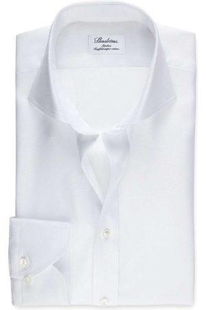 Stenströms Heren Lange mouwen - Slimline Overhemd , Effen
