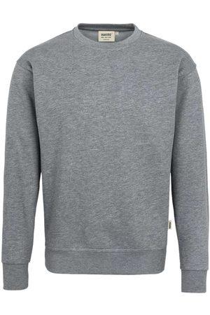 HAKRO Heren Lange mouw - 471 Comfort Fit Sweatshirt ronde hals , Melange