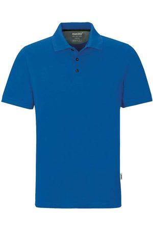 HAKRO Heren Korte mouw - 814 Regular Fit Polo shirt Korte mouw koninklijk, Effen